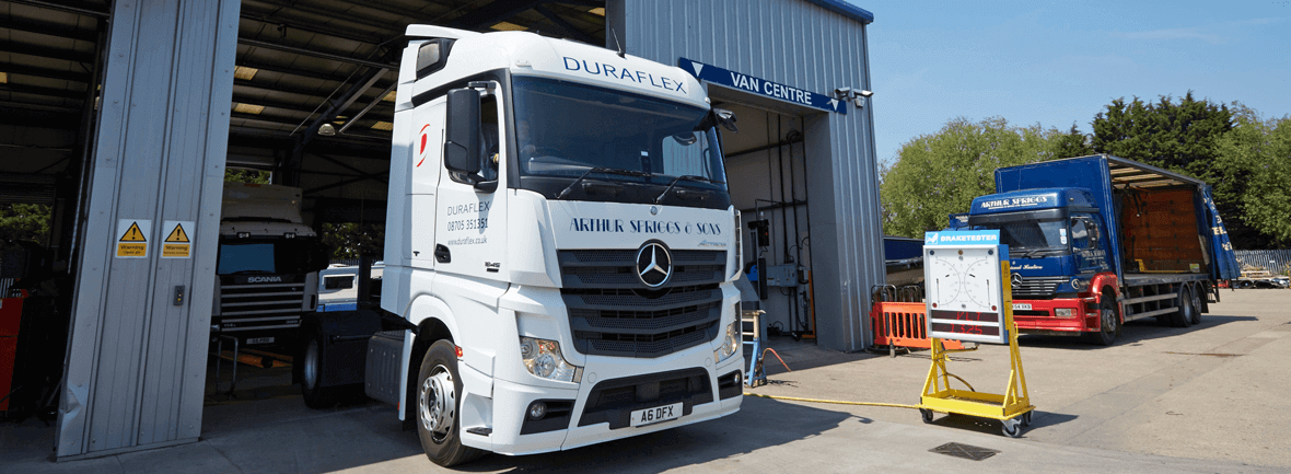 Commercial Vehicle Banner
